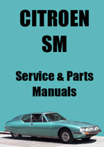 Citroen SM Workshop Repair Manual